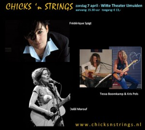Chicks 'n Strings in Witte theater