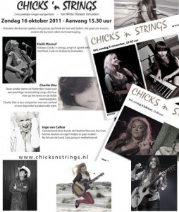 collage Chicks 'n Strings